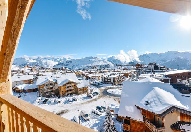 Appartement à L'Alpe d'Huez - Apprt H32 Contemporain Centre Alpe d'Huez