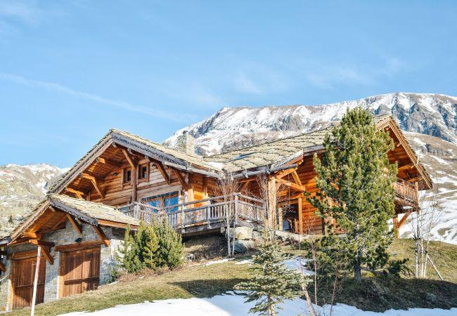 Chalet à L'Alpe d'Huez - 'Le Siffleux' Chalet Sur Les Pistes Alpe d'Huez