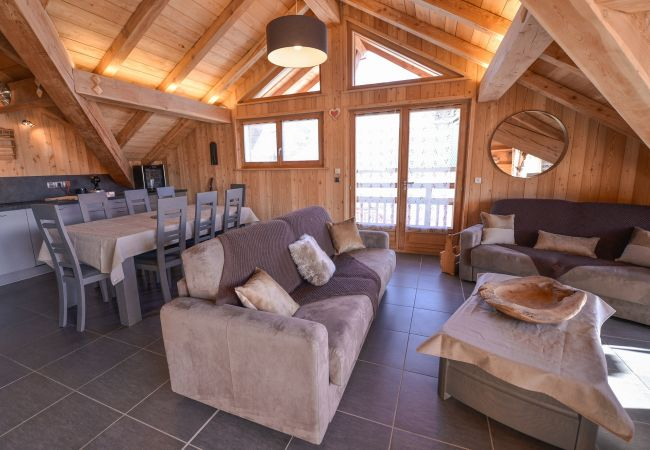 Appartement à L'Alpe d'Huez - Apprt R+2 Luxueux Centre Alpe d'Huez