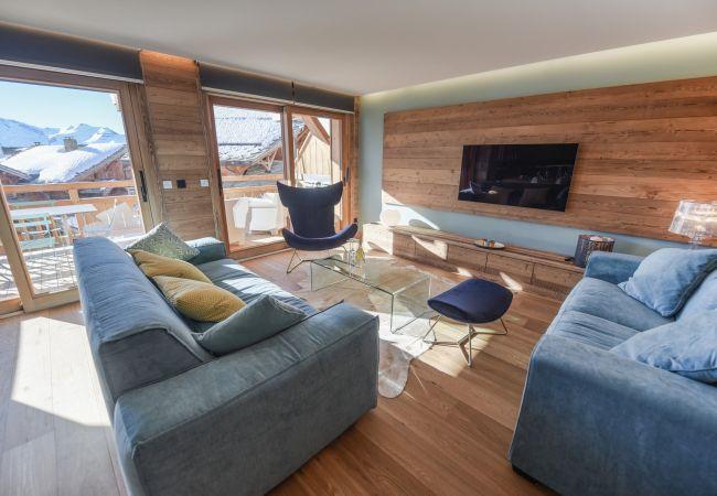 Appartement à L'Alpe d'Huez - Eden Blanc N°A2-11