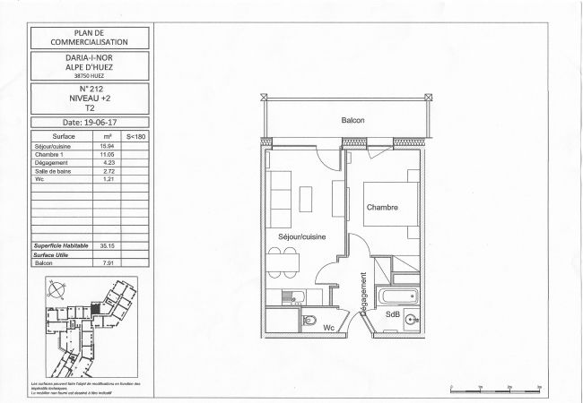 Appartement à L'Alpe d'Huez - Daria-I-Nor N°212