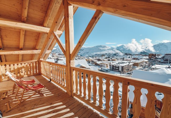 Apartment in L'Alpe d'Huez - Hermitage 42