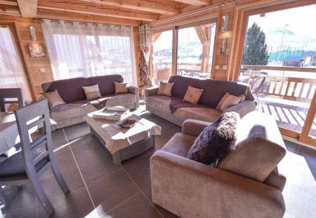 Apartment in L'Alpe d'Huez - Apprt RDC / R+1 Prestigieux Centre Alpe d'Huez
