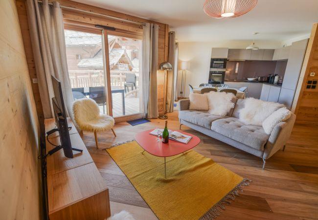 Apartment in L'Alpe d'Huez - Appart chaleureux Neve
